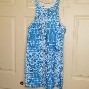 TIBI Animal Print Dress Size 6